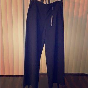NWT Elie Tahari high-waisted / wide-leg trousers